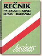 BUSINESS REČNIK - (italijansko-srpski/srpsko-italijanski)