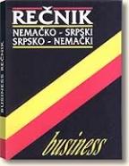 BUSINESS REČNIK - (nemačko-srpski/srpsko-nemački)