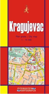 KRAGUJEVAC - Plan grada