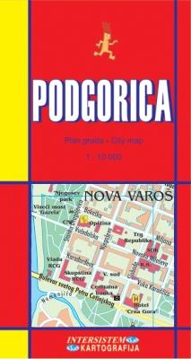 PODGORICA - Plan grada