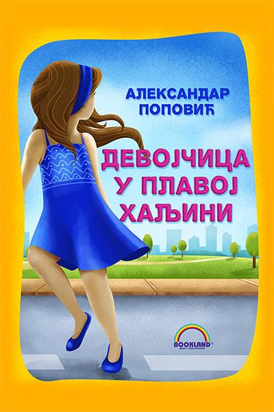 Devojčica u plavoj haljini